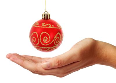 Kubb als Weihnachtsgeschenk